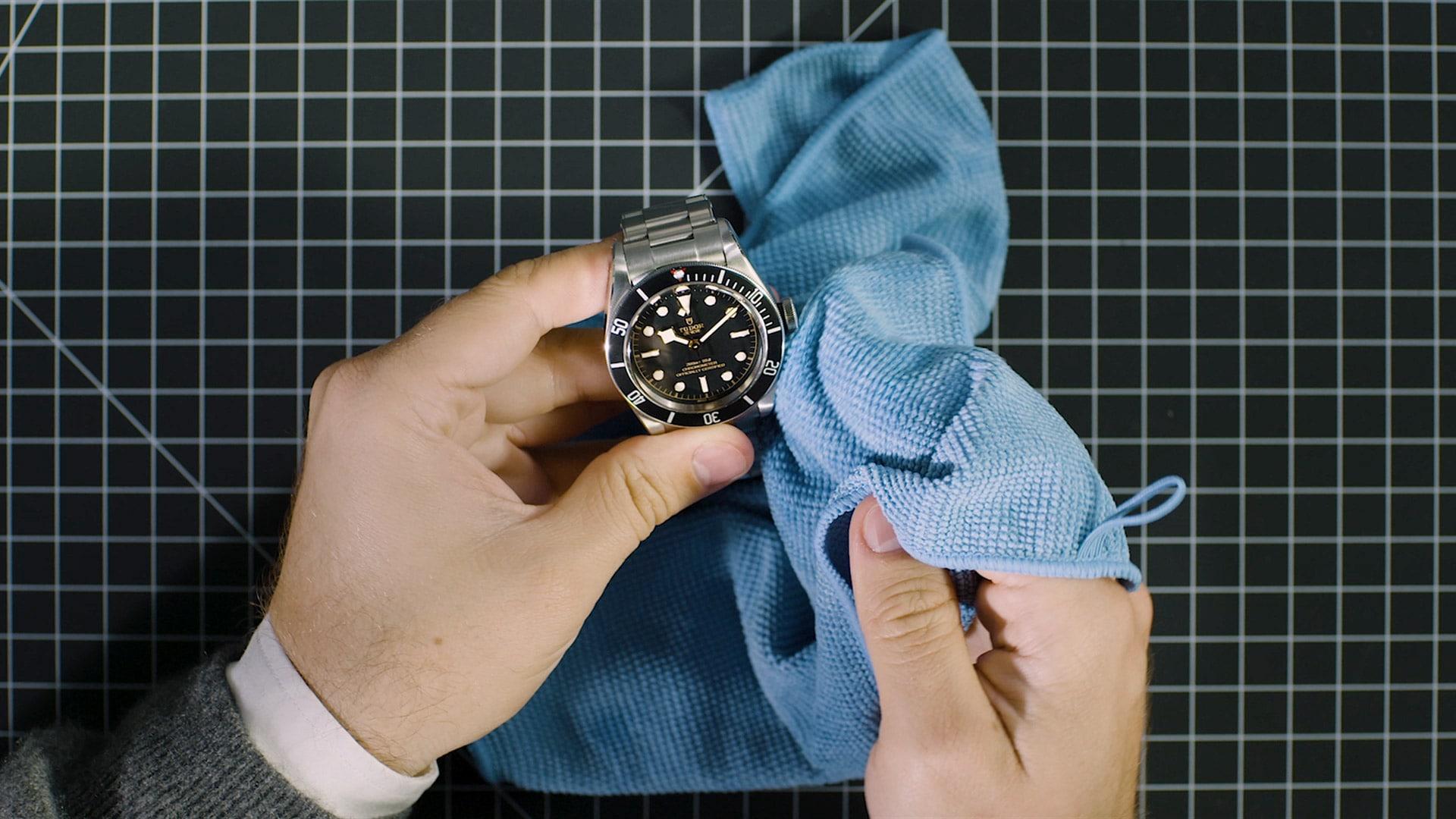 nettoyer sa montre