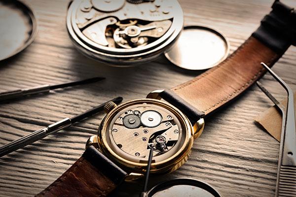 révision montre mécanique